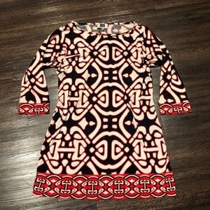 🧶 Laundry by design printed mini dress 8